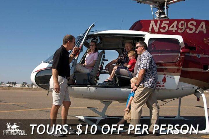 Tours: $10 off per person