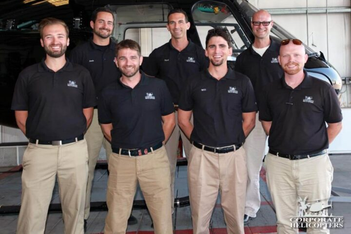 7 flight instructors at Corporate Helicopters