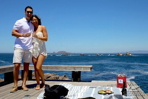 Corporate Helicopters in Ensenada for Marriage Proposal