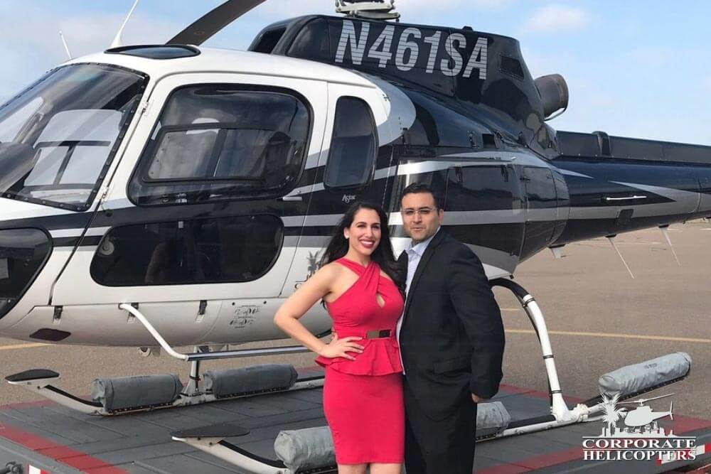 Marriage Proposal - Helicopter Charter