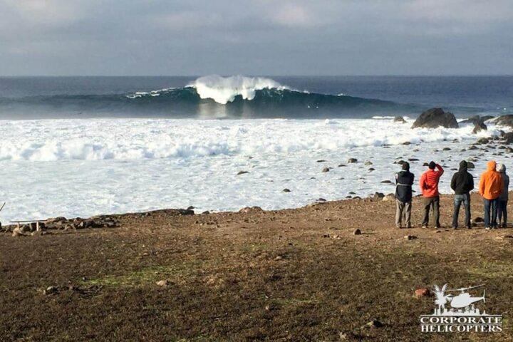 BIG wave off Todos Santos