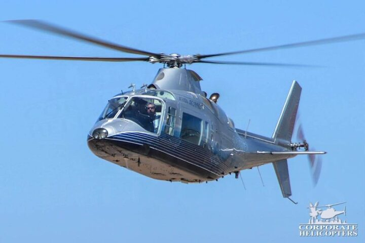 1987 Agusta 109A MKII Plus for sale at Corporate Helicopters of San Diego