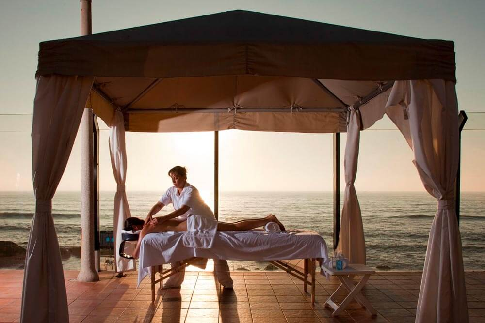 Spa treatments during Mexico Baja Premier helicopter tour