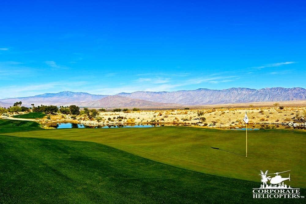 Golf course at Borrego Springs.