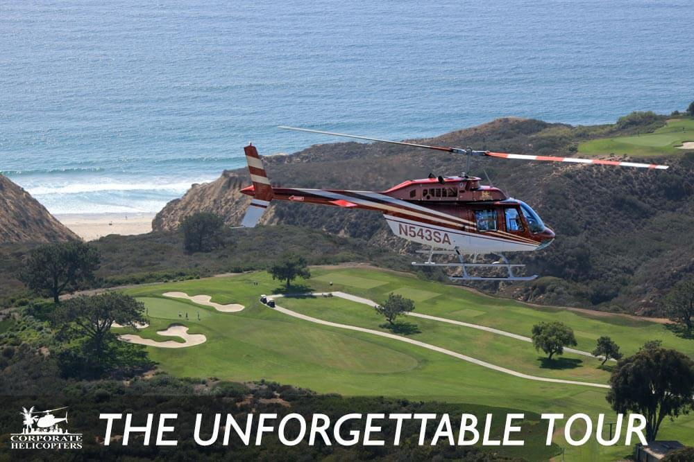 The Unforgettable helicopter tour of San Diego