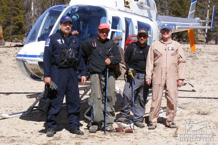 Rescue helicopter service