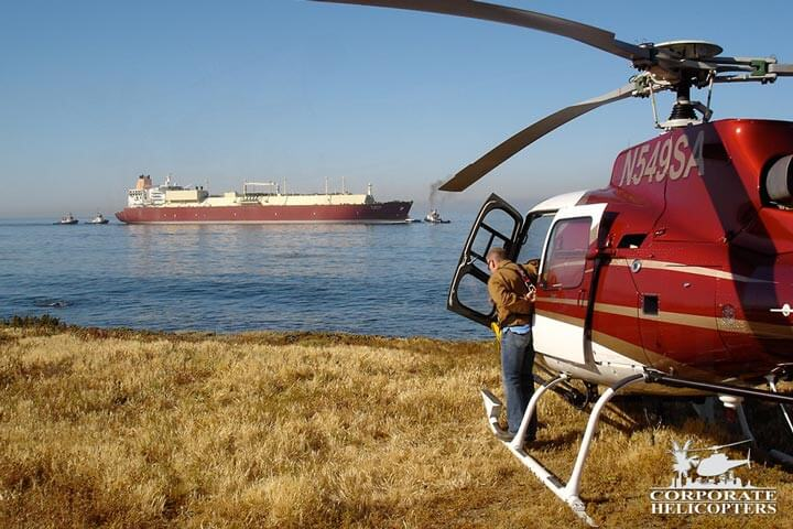 Government helicopter charter