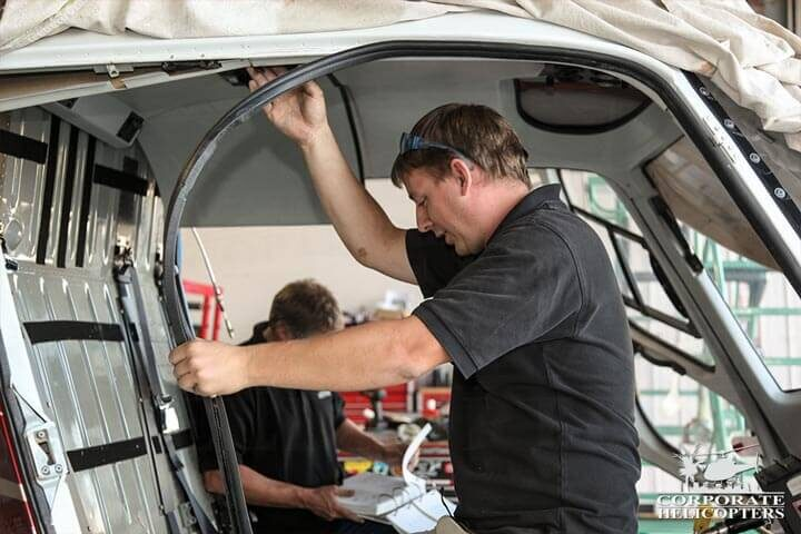 Corporate Helicopters is FAA 145 Repair Station, but also an American Eurocopter Authorized Service Center and a Robinson Authorized Service Center.