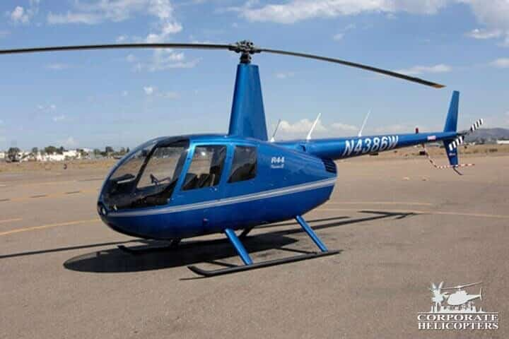 2009 Robinson R44 Raven II for sale at Corporate Helicopters of San Diego