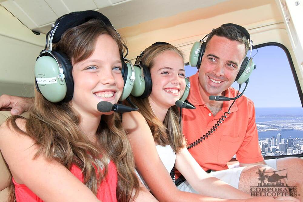 Father's Day helicopter tour of San Diego
