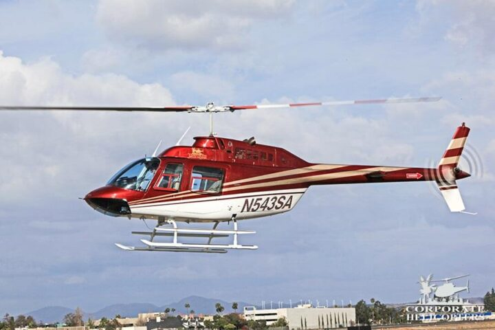 Corporate Helicopters of San Diego has multiple Bell 206BIII JetRanger's in the helicopter fleet