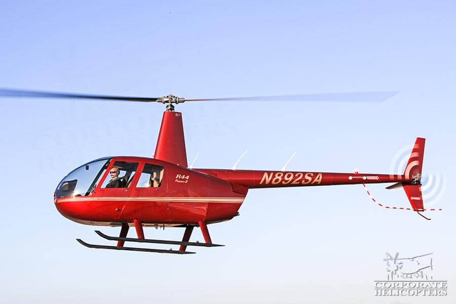 Corporate Helicopters of San Diego has multiple Robinson R44 Raven II's in the helicopter fleet