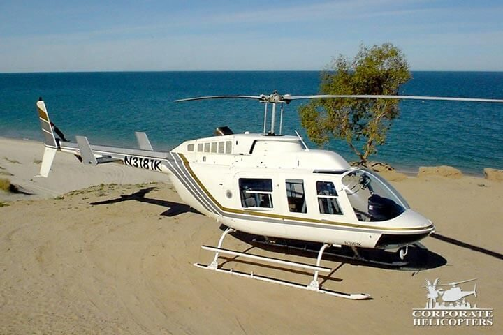 Helicopter flights to Mexico