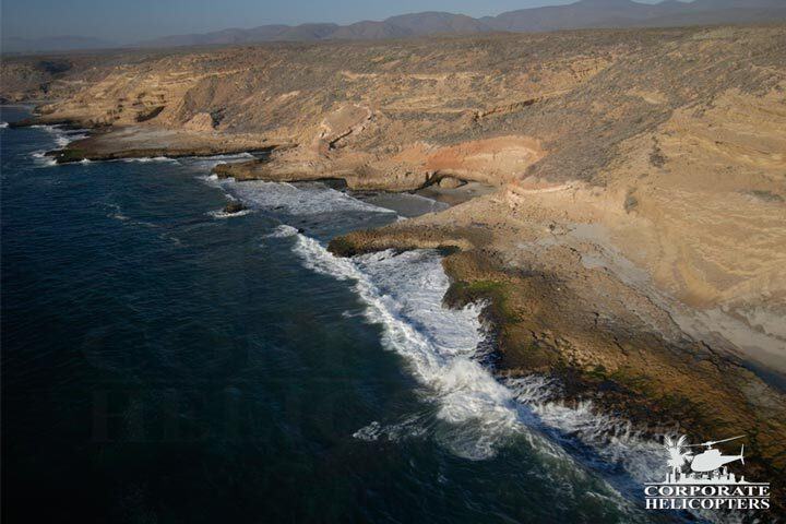 Helicopter tours of Baja Mexico
