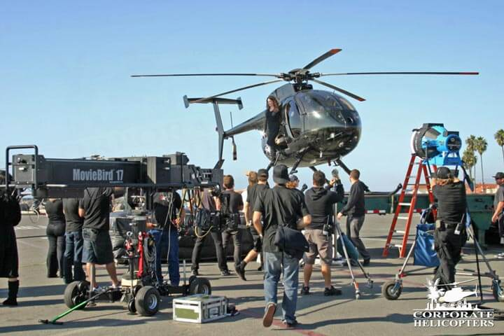 Aerial filming and production services