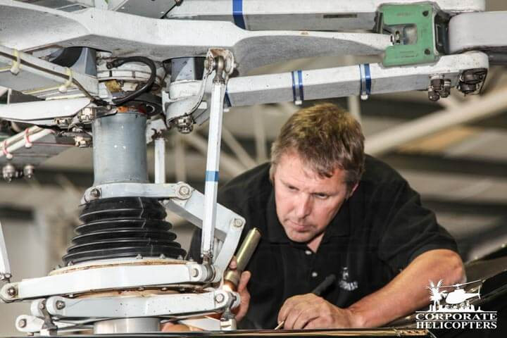 Helicopter maintenance, repair, service and parts in San Diego.