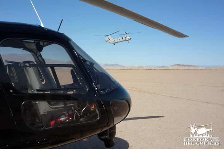 San Diego helicopter services.
