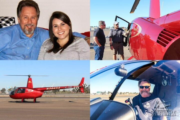 Need a gift for dad? This daughter gave her dad a helicopter flight lesson