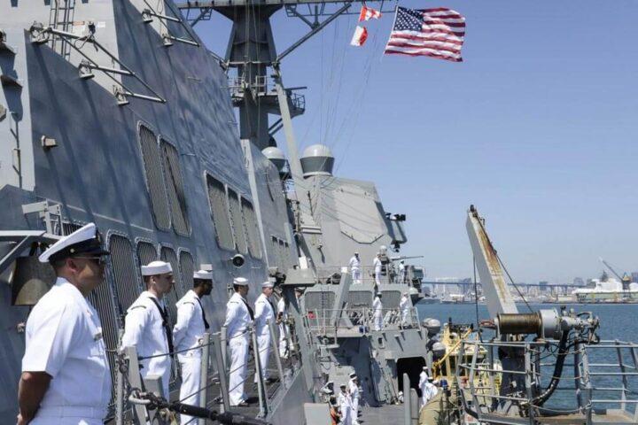 Fleet Week at the Embarcadero