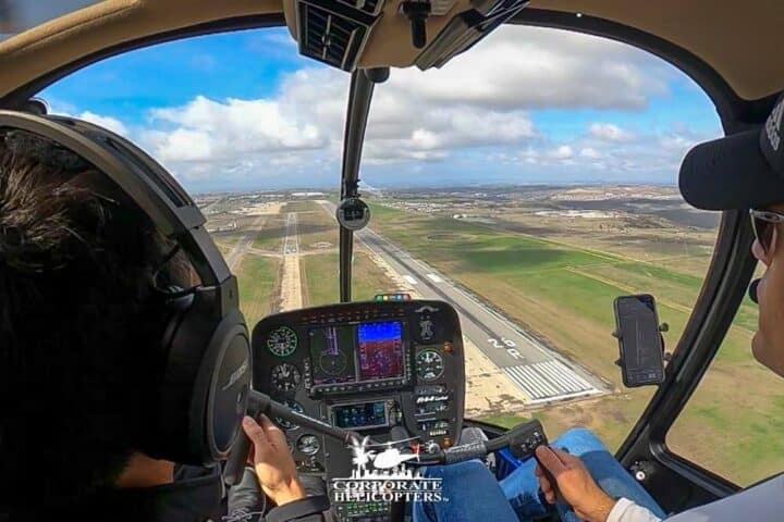 Helicopter flight training school / flight lessons from Corporate Helicopters of San Diego