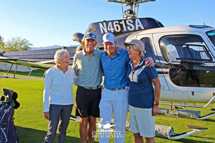 Corporate Helicopters Chief Pilot Gary Roesink is ready for his second retirement and to spend his days on the green golf course instead of the blue skies.