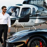 Helicopter Charters from Corporate Helicopters of San Diego, California