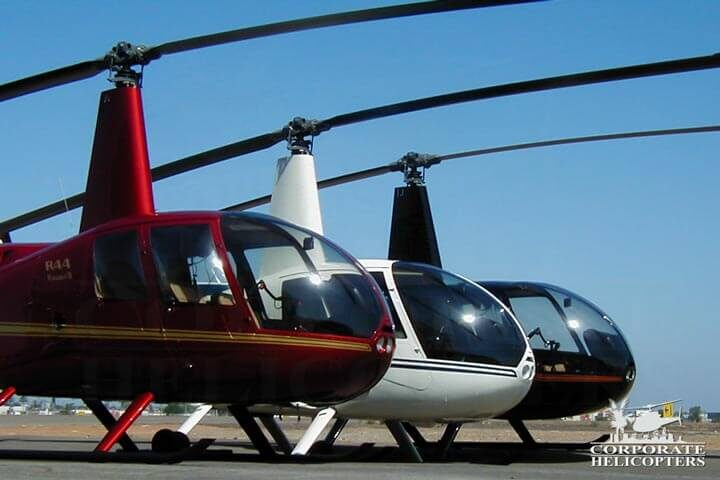 Robinson helicopters for sale at Corporate Helicopters of San Diego