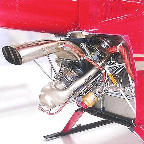 The R66's Rolls Royce RR300 Turboshaft Engine.