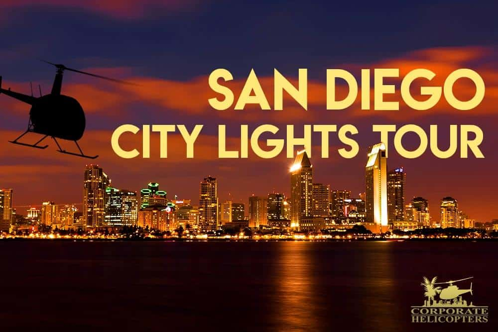 San Diego City Lights Helicopter Tour