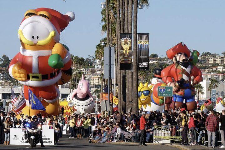 San Diego Holiday Bowl & Balloon Parade