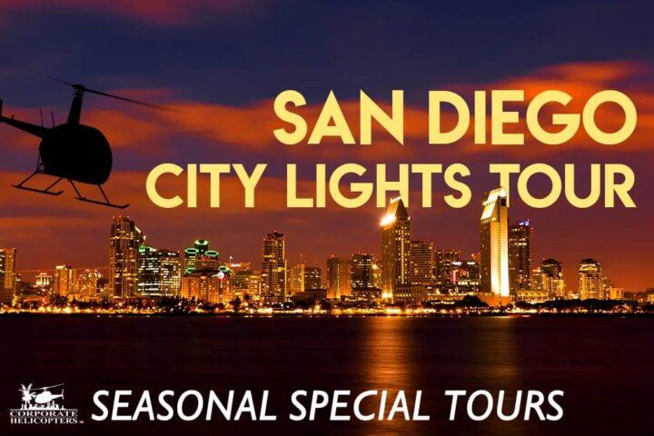 San Diego City Lights Tour: Seasonal Special Tours
