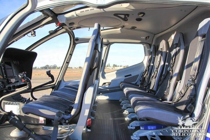 EC 130 T2 cabin seating