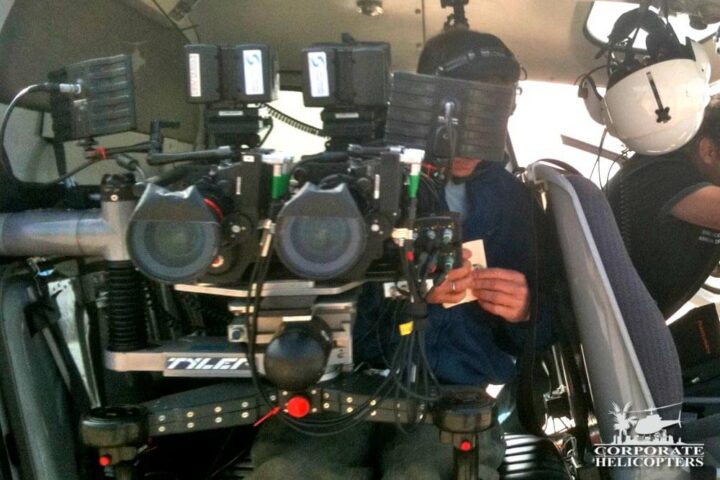 Tyler helicopter camera mounts with cameras